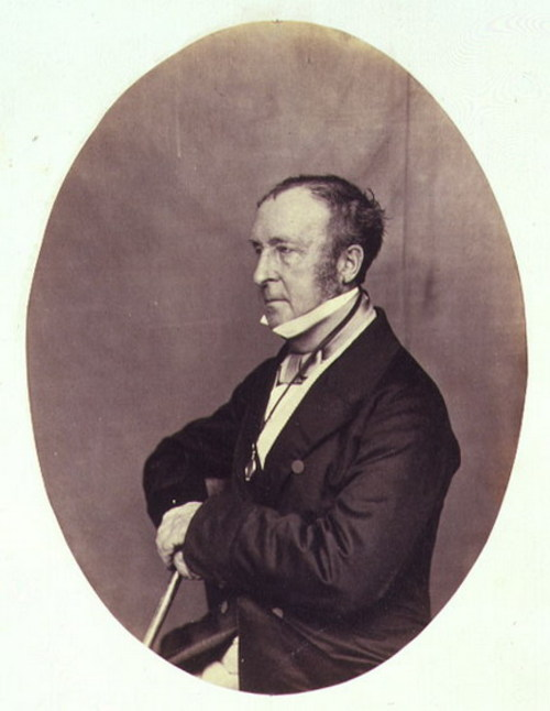 Sir Roderick Impey Murchison, 1860